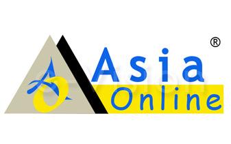 Asia Online Logo Design